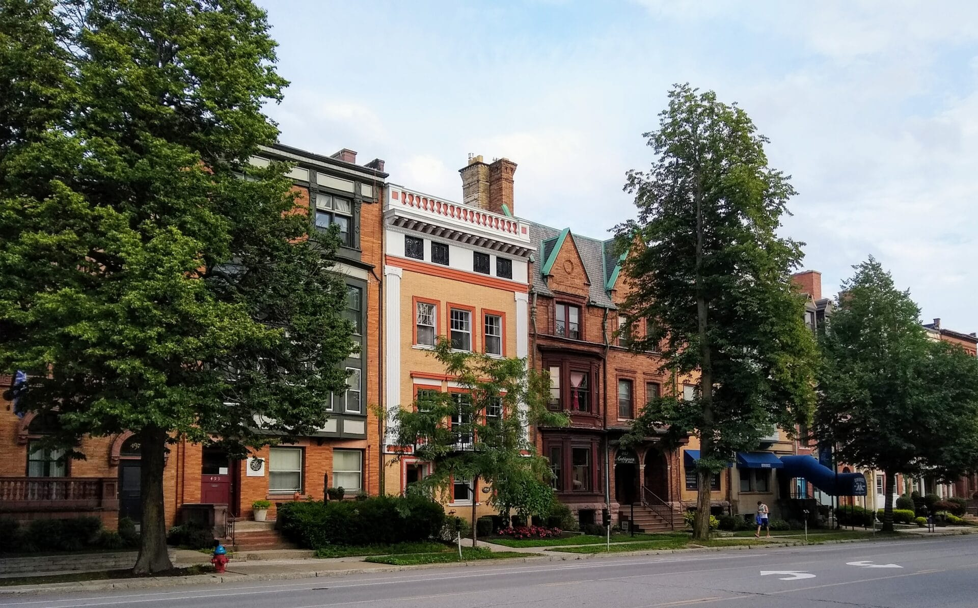 Buffalo's Rowhouses – The Midway on Delaware Ave.