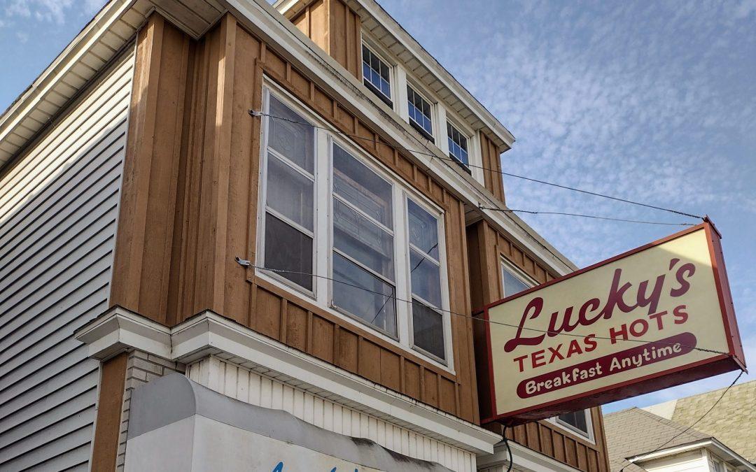 Lucky's Texas Red Hots on Clinton